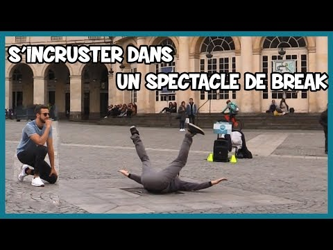 S'incruster dans un spectacle de break dance - Défi Prank - Les Inachevés