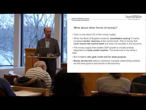 Professor Richard Werner - Banking and the social economy