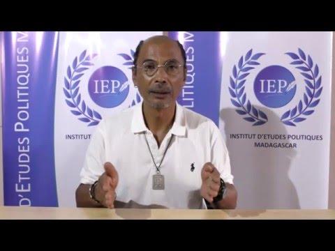"""IEP Madagascar - M. Roland Dieu Donné RABEARISON """"VAHOMBEY"""""""