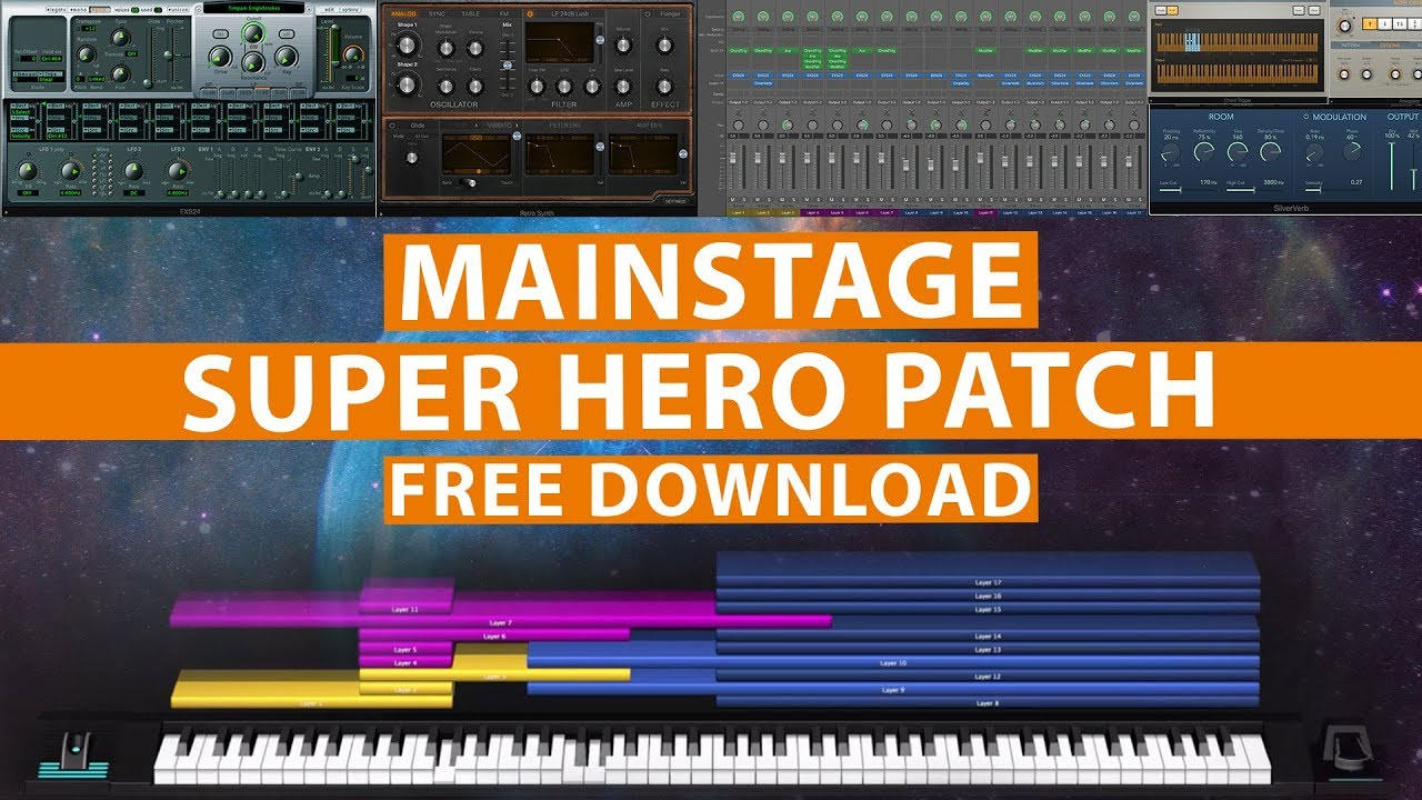 Free MainStage Patch! - Avengers Theme
