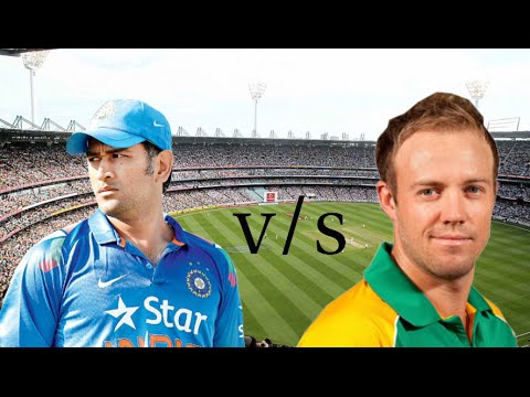 India vs South Africa cricket match in ICC World Cup 2015