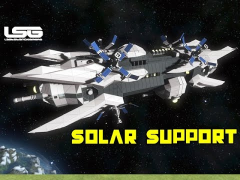 Space Engineers - Solar Support Vessel