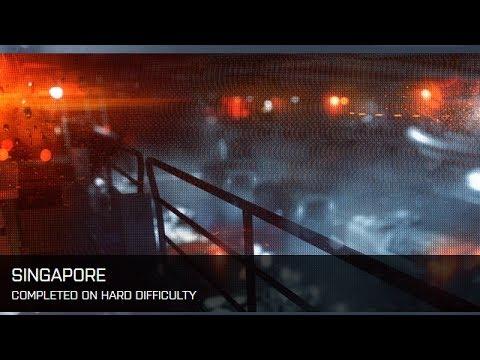 Battlefield 4 Cinematic Campaign  Mission 4 Singapore Part 1