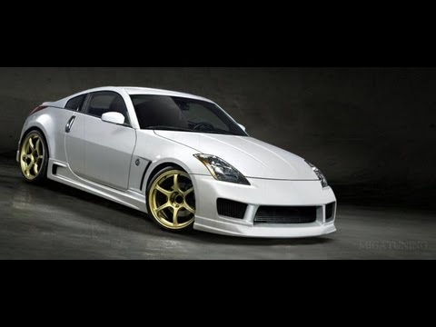 nissan 350z tuning body kits youtube. Black Bedroom Furniture Sets. Home Design Ideas