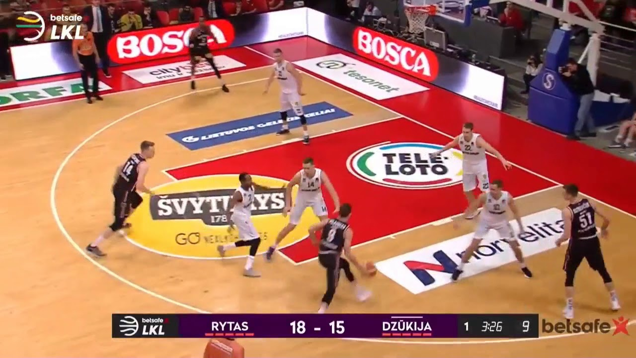 Watch all the LKL games live on www.fanseat.com (outside Lithuania only)