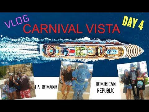 Day 4-CARNIVAL VISTA Vacation Family Cruise LA ROMANA Dominican Republic-VLOG