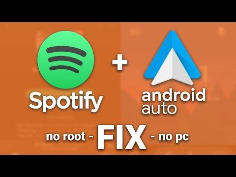 Android Auto non riconosce Spotify: SOLUZIONE