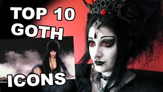 Goth Reacts to Top 10 Goth Icons | Black Friday