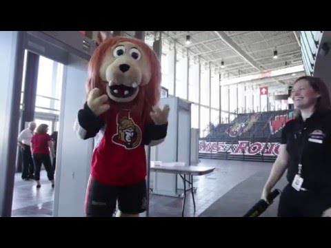 Sparty & Canadian Tire Centre Security