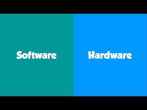 Différence entre Software et Hardware