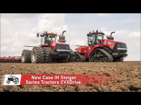 New Case IH Steiger Series Tractors CVXDrive