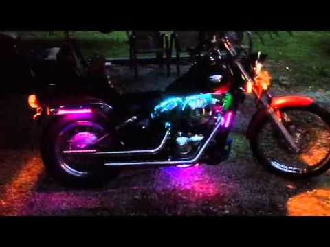 Kawasaki Vulcan 800a With Led Light Kit
