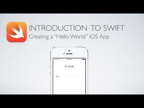iOS Swift 1: Creating a Hello World App