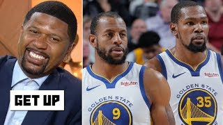 Jalen Rose rejects Andre Iguodala's prediction: Kevin Durant is going to the Knicks! | Get Up