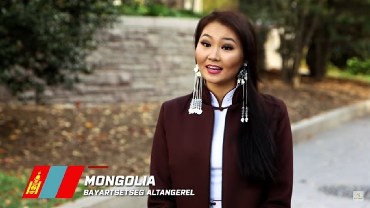 Mongolia, Bayartsetseg Altangerel - Contestant Profile: Miss World 2016