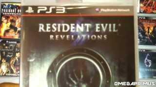 Resident Evil Revelations (PS3) Unboxing
