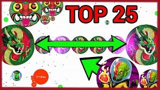 TOP 25 BALZ.IO CLIPS OF THE WEEK // LINESPLIT EDITION (New Agar.io)