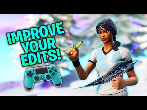 how to improve your editing on controller warm up course fortnite console ps4 - fortnite editing tips ps4