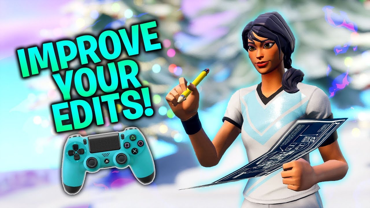 How To Improve Your Editing On Controller Warm Up Course Fortnite Console Ps4xbox
