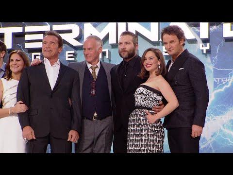 Terminator Genisys European Premiere Red Carpet
