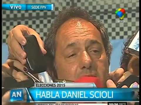 """Scioli: """"Quiero destacar la elección de Recalde"""""""