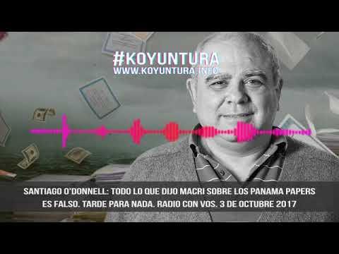 Santiago O'Donnell: Todo lo que dijo Macri sobre los Panamá Papers es falso