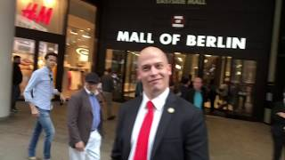 DFB-Pokalfinale in Berlin und FC Bayern rockt sich vorher in der Mall of Berlin warm! - Michael Kuhr