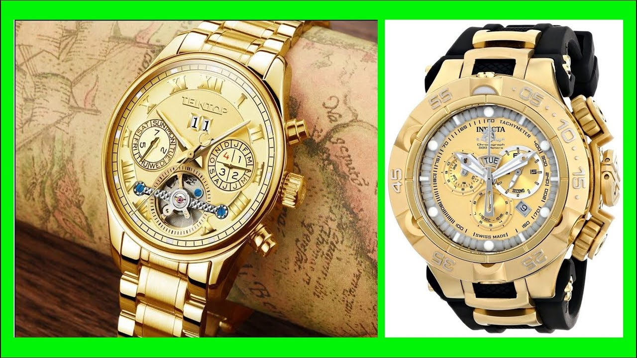 Top 50 Gold Watches For Men Best Mens Fashion Gold Watch Images
