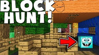 WHY IS THIS BLOCK MEOWING LIKE A CAT? - MINECRAFT PRIVATE PROP HUNT