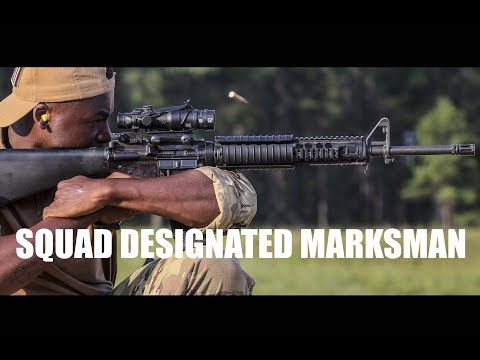 Squad Designated Marksman Course teaches critical skills