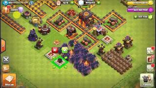 Ataque Todo pekkas - clash of clans (server hack) / RarutoXx