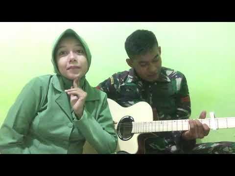 Cover Lagu Adek Berjilbab Ungu.
