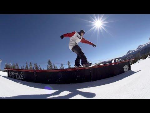 How To Snowboard - Boardslides w/ Dan Brisse | TransWorld SNOWboarding