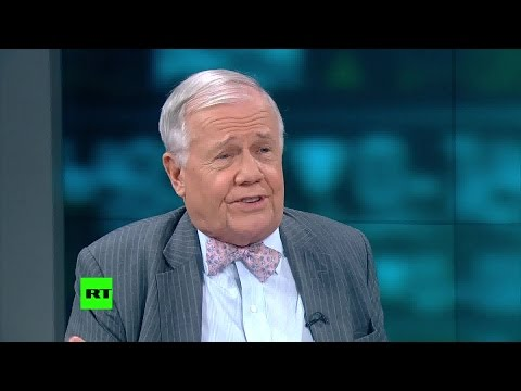 Jim Rogers on owning gold and real assets