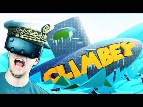 Climbing on a Submarine! Workshop Levels! - Climbey Gameplay - Climbey VR HTC Vive