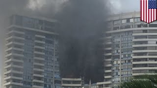 Marco Polo building fire kills three in Honolulu, no sprinkler system inside high-rise - TomoNews