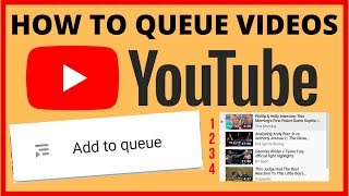 ADD TO QUEUE Videos On YOUTUBE (Useful New Feature)