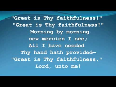 Great is Thy Faithfulness Women of Faith