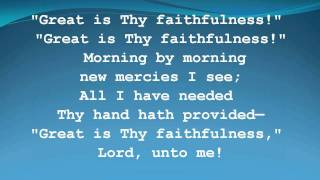 Great is Thy Faithfulness -Women of Faith
