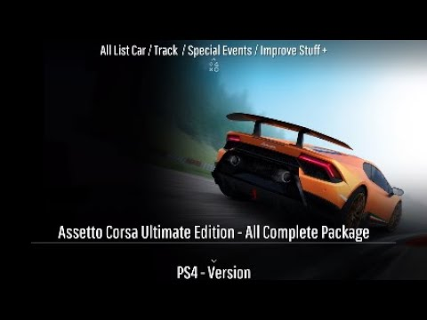 assetto corsa ultimate edition ps4 all list car track. Black Bedroom Furniture Sets. Home Design Ideas