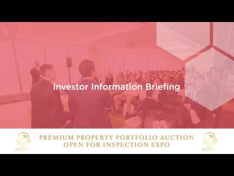 CBRE Investor Information Briefing & PPPA Open For Inspection Expo