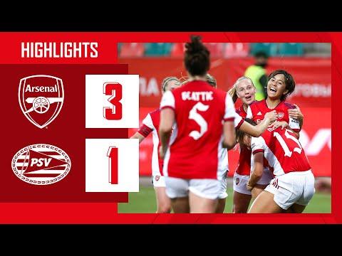 HIGHLIGHTS |  Arsenal vs PSV (3-1) |  Champions League |  Iwabuchi (2), Miedema