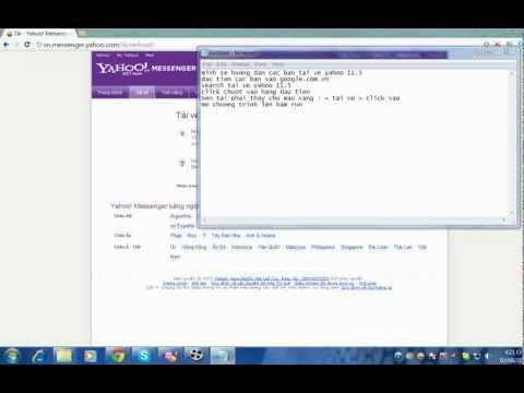 Hướng Dẫn Tải Yahoo 11.5 ( HD )