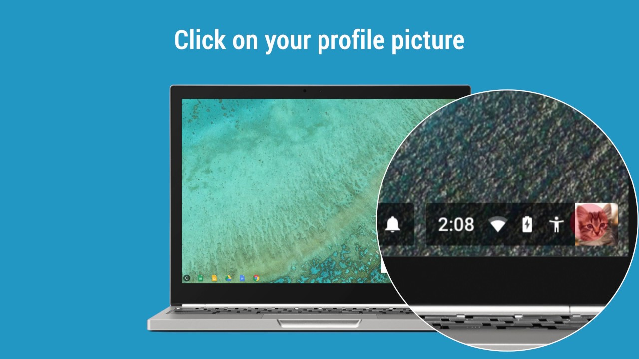 Sharing your Chromebook