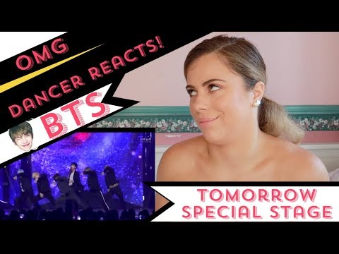 'Tomorrow' Special Stage BTS (방탄소년단) - DANCER REACTS!!!