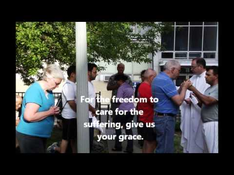 Pilgrimage to Shrine of Our Lady of Good Help.wmv