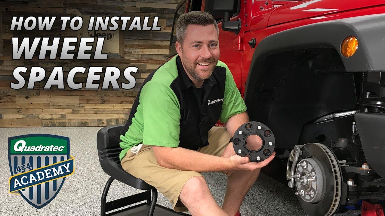 "Rugged Ridge 15201.17 Wheel Spacers 1.75/"" for 2007-2018 Jeep Wrangler JK"