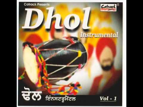 DHOL INSTRUMENTAL | Part 1 Of 2 | Bhangra Beats | Best Punjabi Dance Music | Desi Folk Rhythm-India