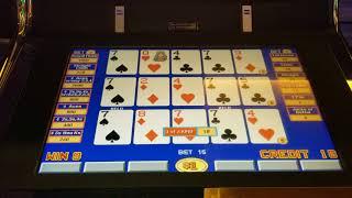 JACKPOT at High Limit Triple Play DDB Video Poker
