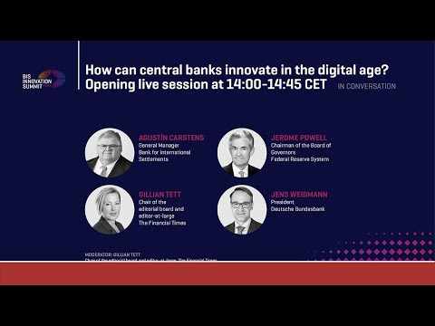 How can central banks innovate in the digital age?